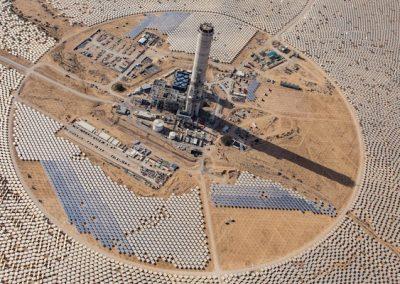 Planta de Energía Solar Recicla Agua de Purga Para Preservar Agua Dulce
