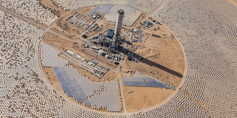 Solar Power Plant Recycles Blowdown Water to Save Fresh Water