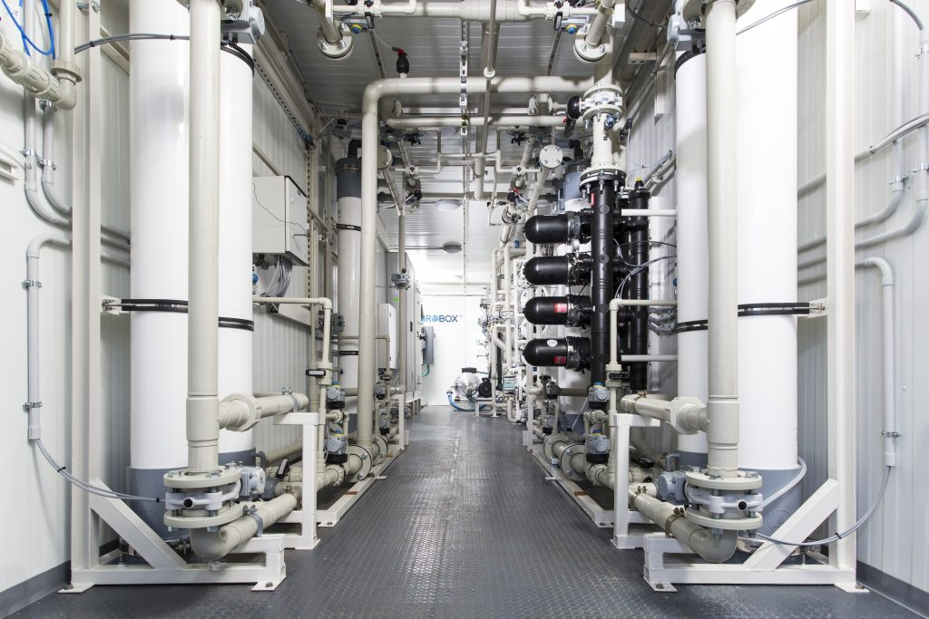 Containerized Seawater Desalination