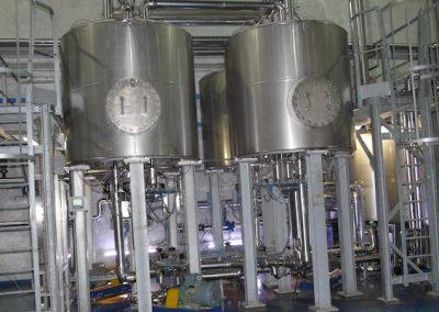 Solución del Bajo Uso de Producto Químico Para Desmineralización del Jugo