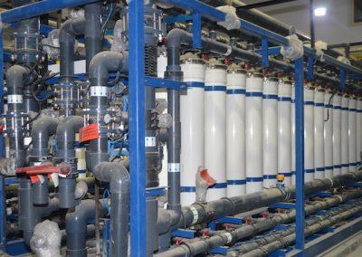 Tratamiento de Agua de Mar Produce Agua de Proceso Para Planta de Energía