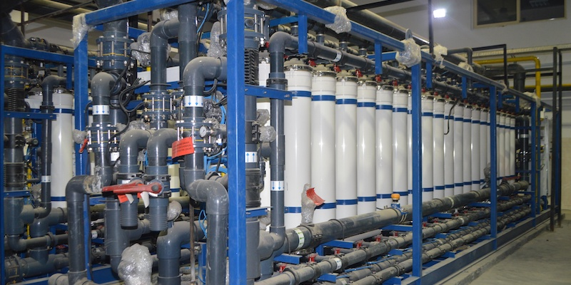 Seawater Treatment Yields Process Water for Power Plant