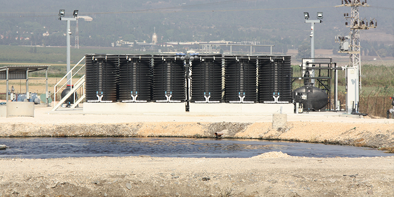 WWTP with MABR Technology in Rural Israel