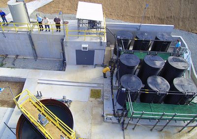 Municipal WWTP with MABR Technology on St. Thomas