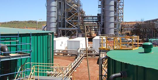 Tratamiento de Agua de Estaciones de Energía Remotas