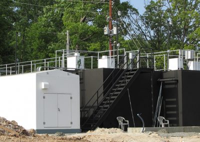 Packaged Wastewater Treatment for Lakeside City