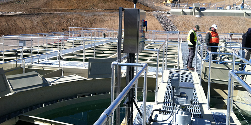 Packaged Wastewater Treatment for Uneven Terrain