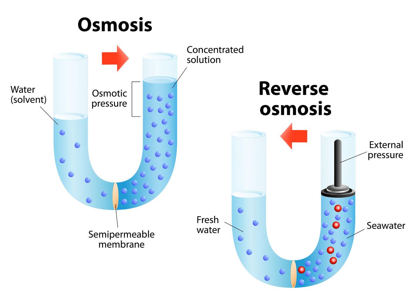 Ósmosis Inversa
