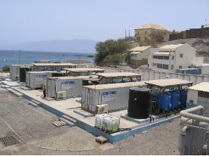 Containerized reverse osmosis seawater desalination system