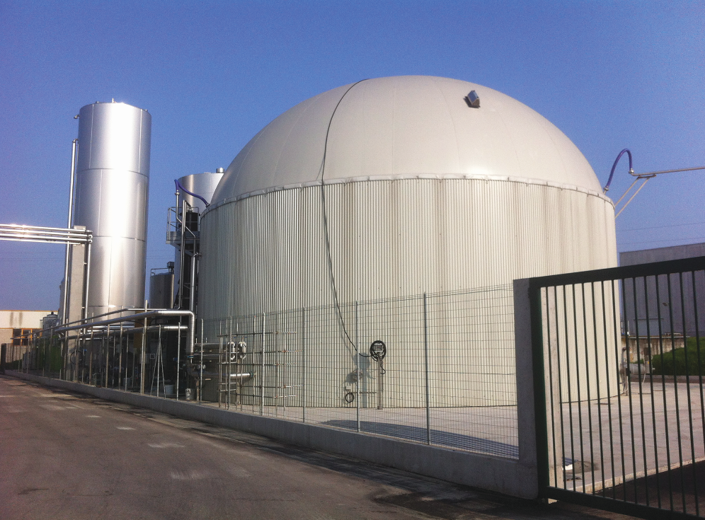 Biogas From Dairy Whey