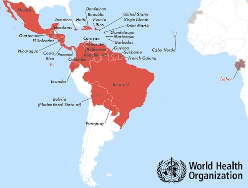 Water Scarcity Plays Role In Zika Spread Fluence - Argentina zika map
