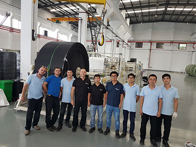 China and Israel engineering and production teams, Changzhou