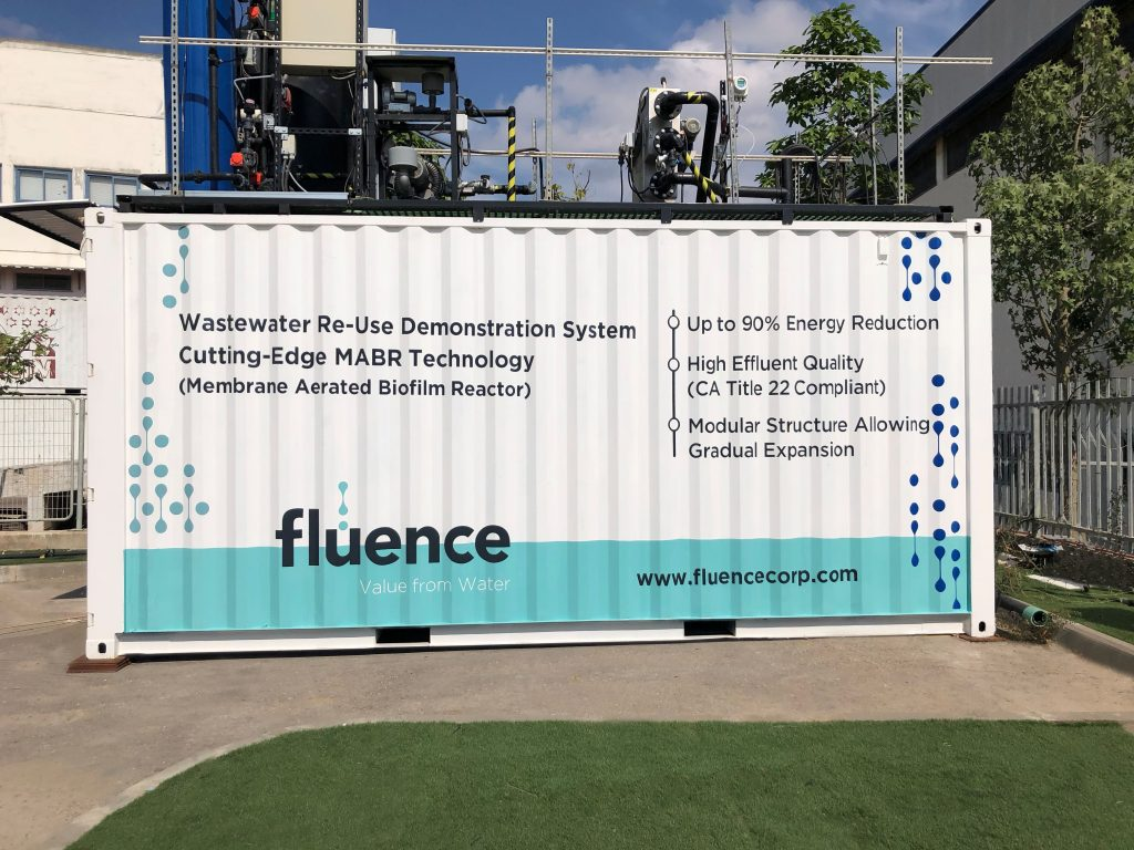 Fluence to Commission First MABR System in Mainland United