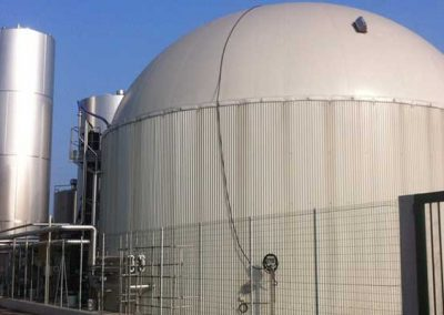 Dairy Feeds Biogas Plant With Whey