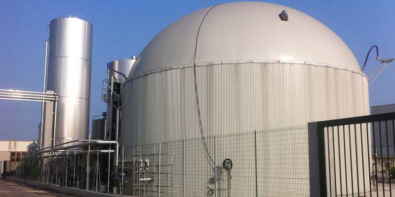 Dairy Feeds Biogas Plant With Whey Fluence