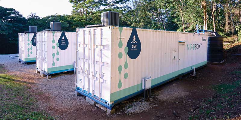 NIROBOX™ Seawater Desalination for Coastal Resort