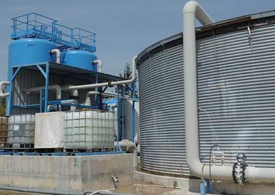 Containerized Brackish Water Reverse Osmosis Desalination Plant