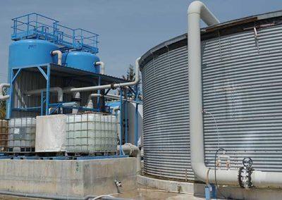 Planta de Desalinización Mediante Ósmosis Inversa de Aguas Salobres en Contenedores