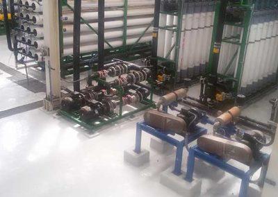 Desalinización de Agua de Mar para Proporcionar Sistema de Desulfurización de Gas de Combustión