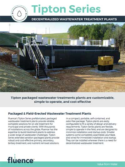 Tipton Packaged Wastewater Treatment Plants