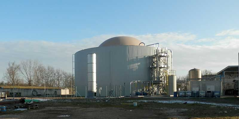 Fluence Anaerobic Digestor for ArcelorMittal