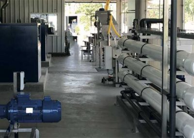 Aerobic Treatment for Reuse of Wastewater at Fish Processing Plant