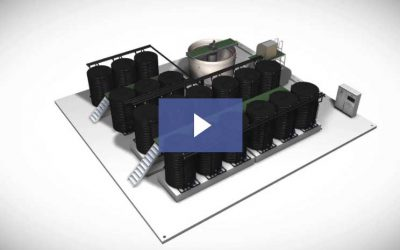 Membrane Aerated Biofilm Reactors (MABR) Technical Animation