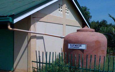 La Recolección del Agua de Lluvia Agrega Resiliencia a los Suministros de Agua