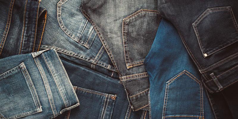 Uso del agua de Jeans Azules