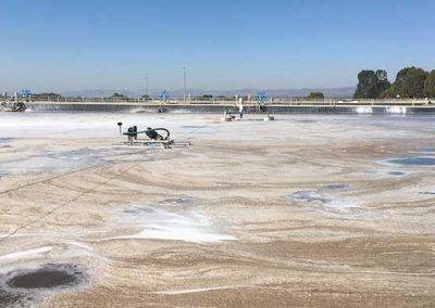 Aireación para Papelera en Lagunas de Oxidación