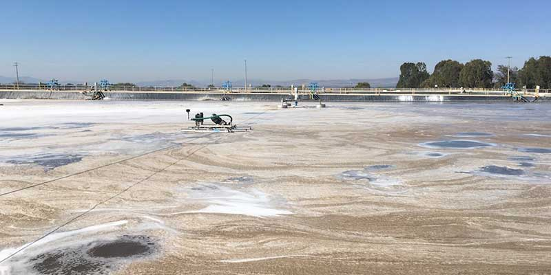 Aeration for Paper Mill Oxidation Lagoons