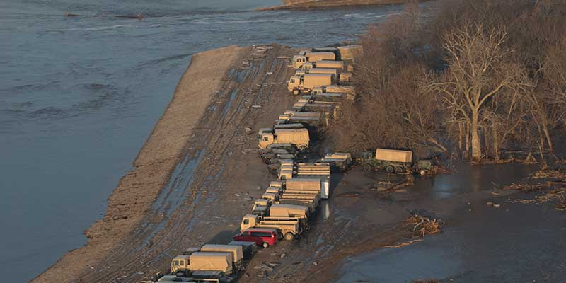 Flooding Threatens Midwest Water Wells