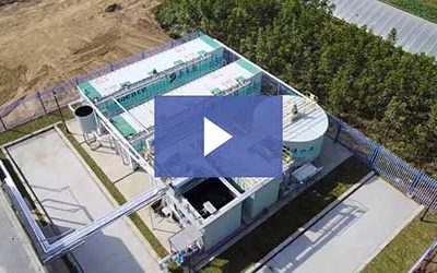 Aspiral™ 300 m³/day Installation for Rural Wastewater Treatment