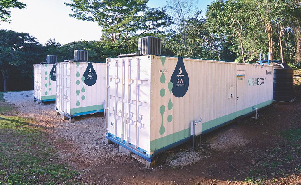 Planta Desalinizadora NIROBOX™ Instalada en el Resort