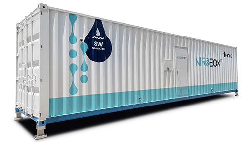 Containerized Seawater Desalination Units