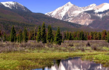 Microplastics in the Rocky Mountain National Park