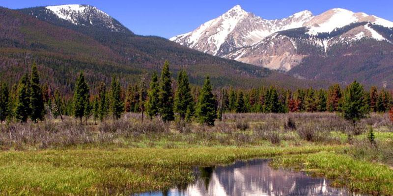 Microplásticos en el Parque Nacional de las Montañas Rocosas