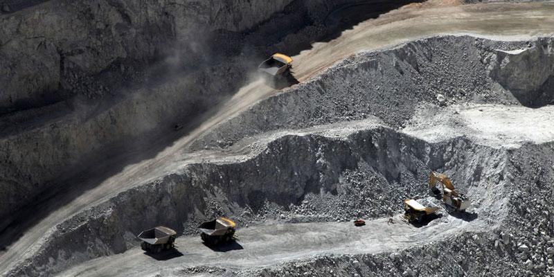 Open Pit Copper Mine in Calama, Chile