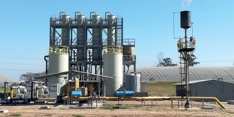 Biogas Desulfurization Plant for Citrus Processor