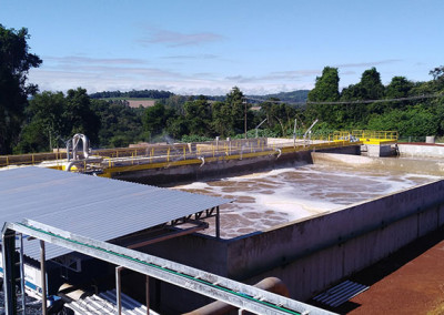 Aerobic Treatment Plant for Poultry Processing Effluent