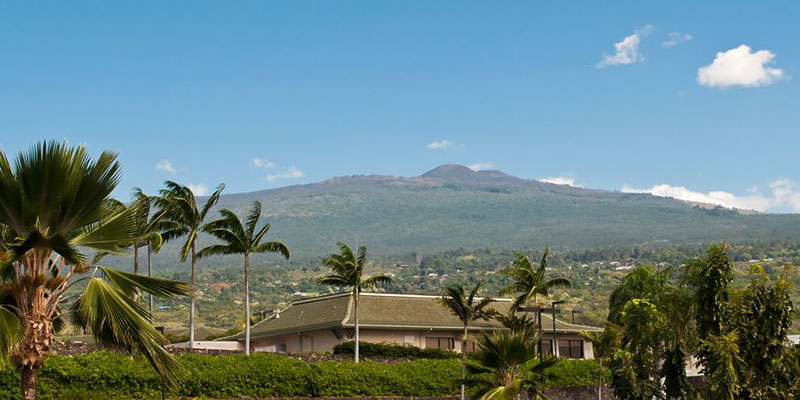 Hualalai Volcano, Island of Hawaii