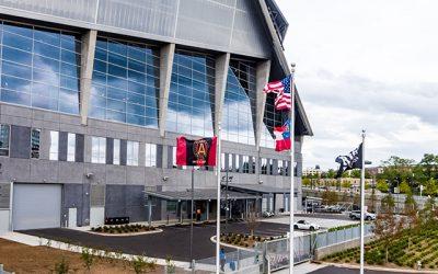 Stadiums Adopt Stormwater Management
