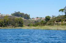 Rural Reservoir in San Diego, California