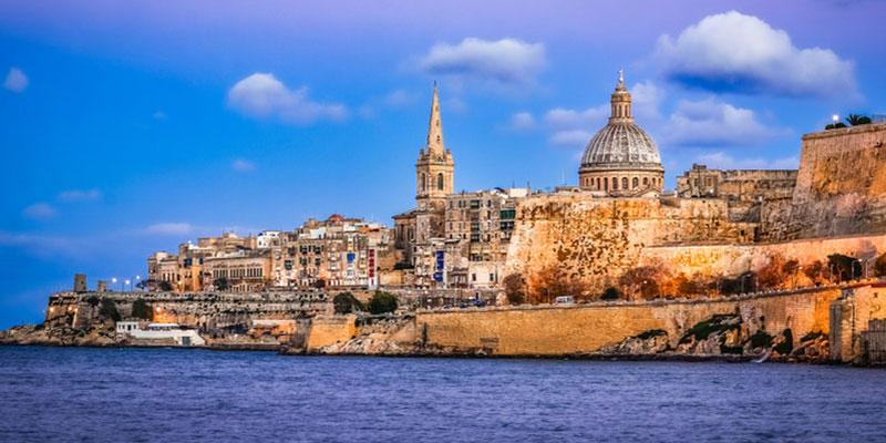 La Valeta, la capital de Malta.