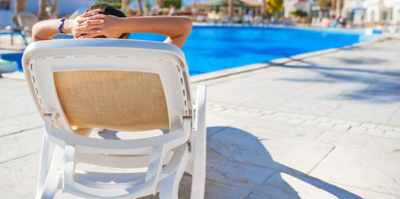 Piscina Relajante en el Hotel Resort